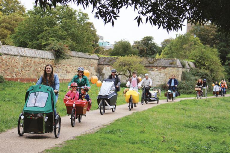 Cambridge Festival of Cycling Cargo Bike Carnival