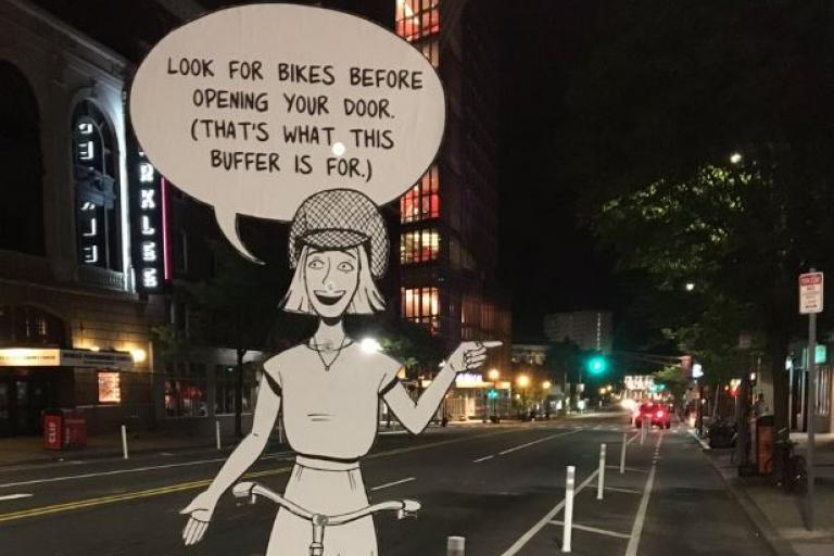 Cartoon campaigning in Boston (picture via Jonathan Fertig on Twitter).JPG