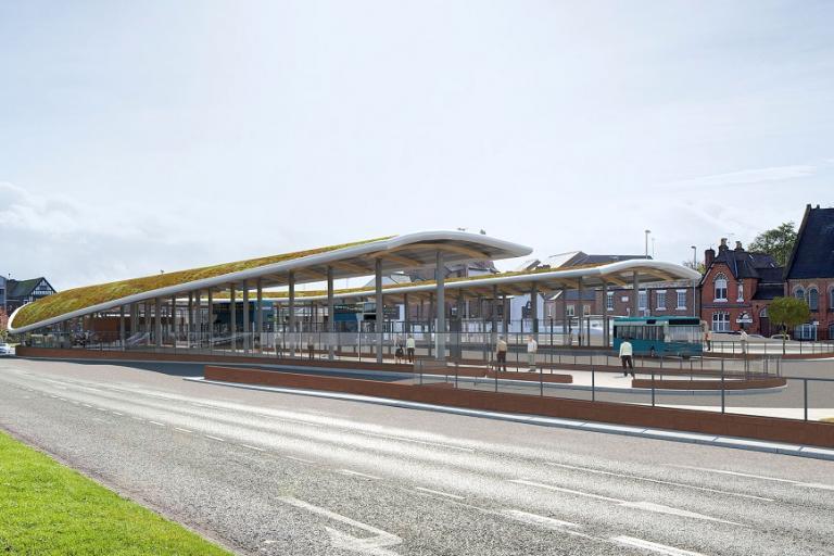 Chester Bus Interchange CGI impression