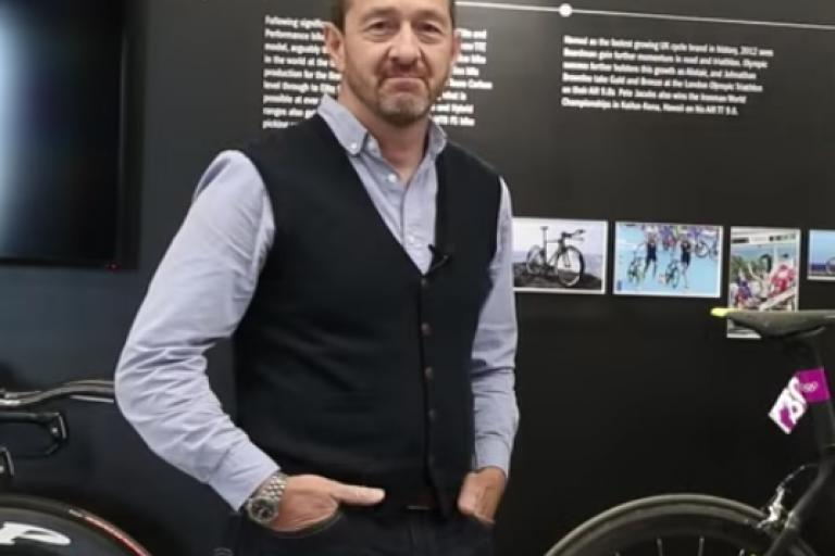 chris boardman at boardman performance centre