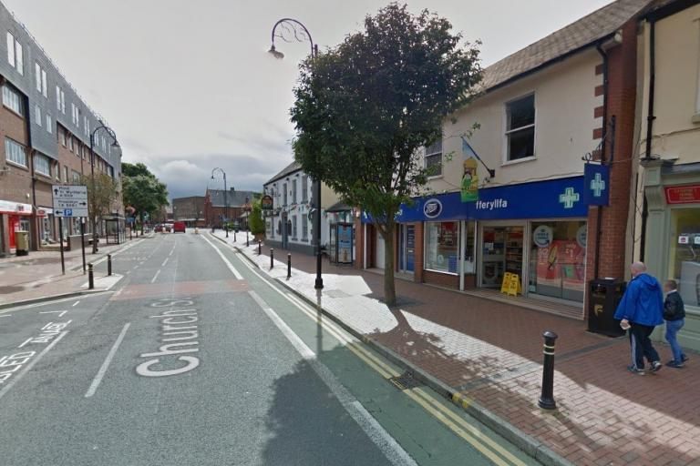 Church Street, Flint (via StreetView).jpg