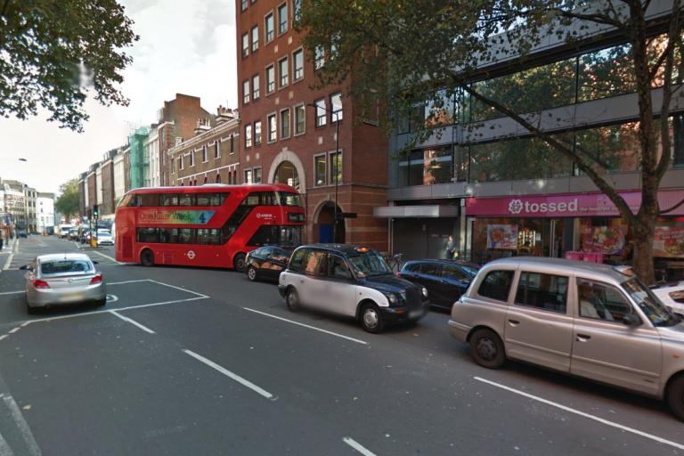 Clerkenwell Road and Theobalds Road junction - image via Google Street View.PNG