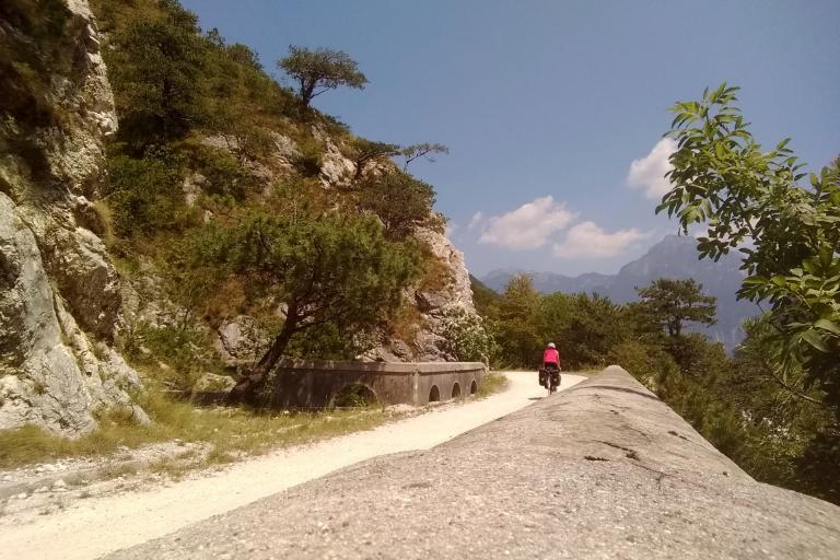 Climbing towards the Dolomites on cycle routes.jpg