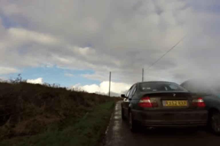 Close pass near Redruth (source Paul Dickey Facebook video still).PNG