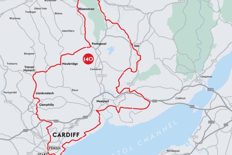 Velothon amateur route map 2016