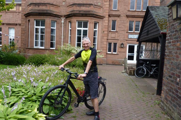 Cumbria Bicycle Mayor Richard Ingham