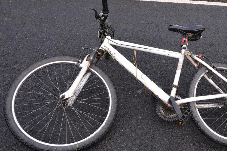Cupar cyclist's bike (Fife Police)