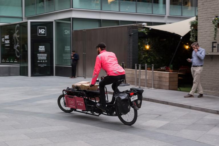 Cycle freight (TfL)