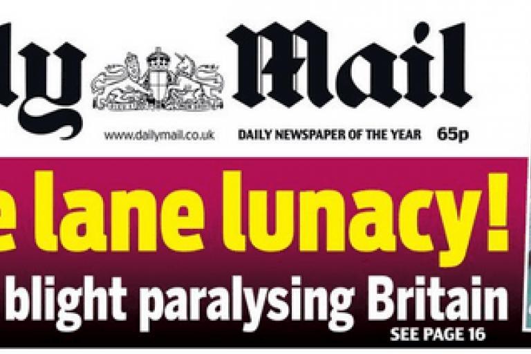 Cycle Lane Lunacy.PNG