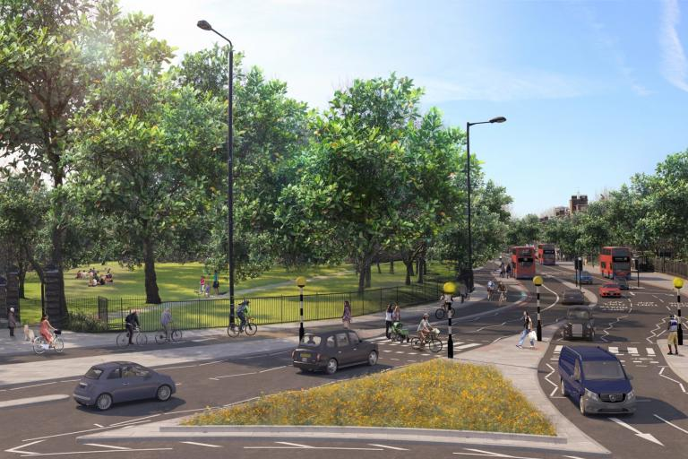 Cycle Superhighway 4 Rotherhithe.jpg