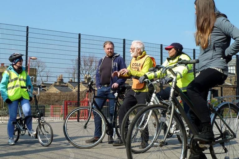 Cycle Training UK instructor training course (via CTUK on Facebook)