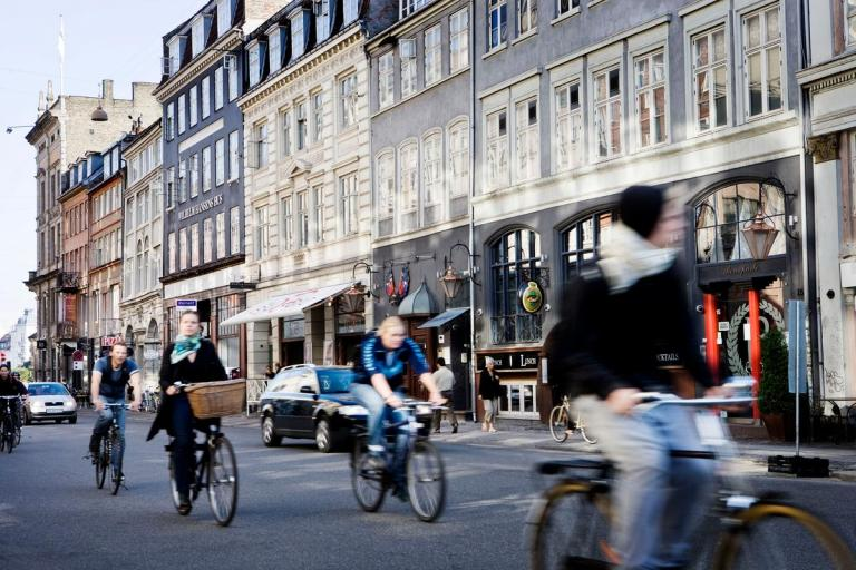 Cycling in Copenhagen (picture credit Ty Stange via Copenhagen Media Centre)