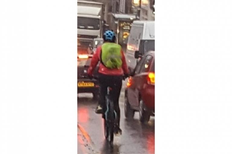 Cyclist alleged to have threatened Poole driver (Dorset Police).jpg