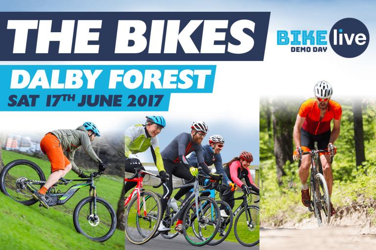 Bike Live Dalby Forest - The Bikes