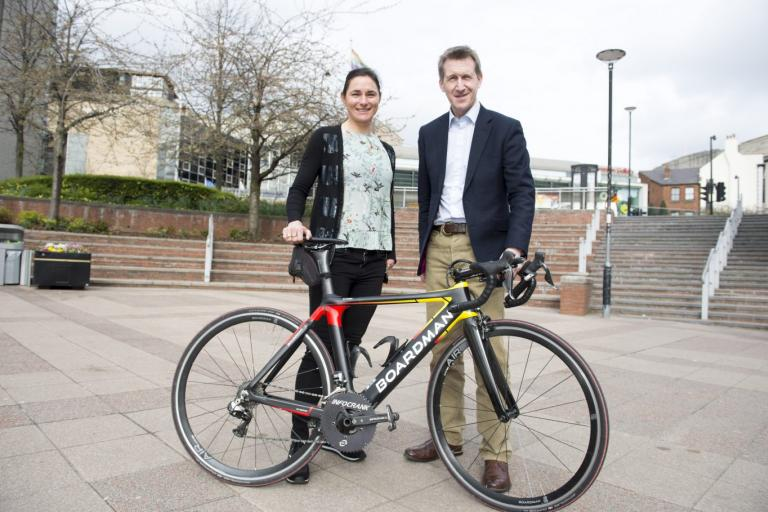Dame Sarah Storey and Sheffield City Region Mayor Dan Jarvis (picture credit Sheffield City Region)