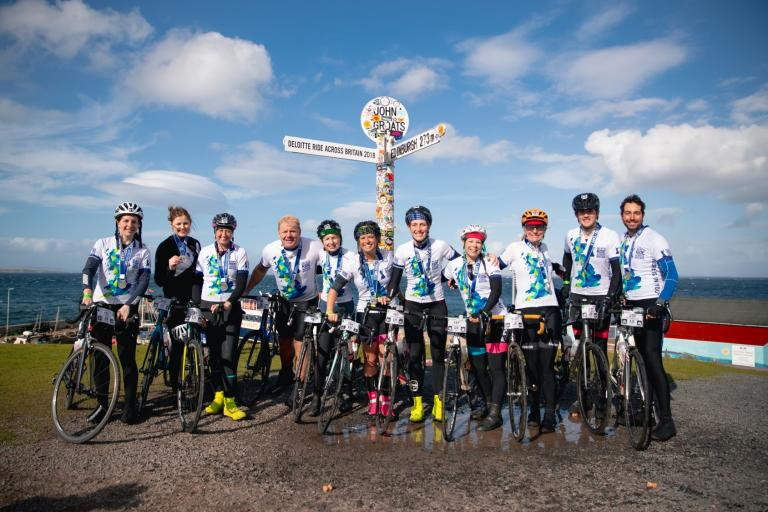 Deloitte Ride Across Britain 1