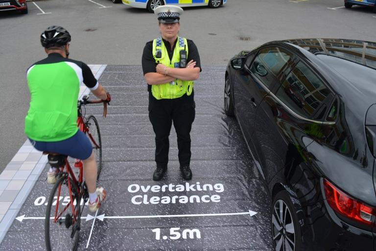 Dorset Police close pass operation