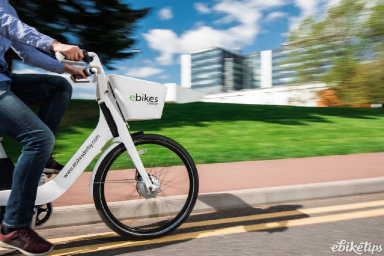 ebikes Derby bike, credit ebikes Derby