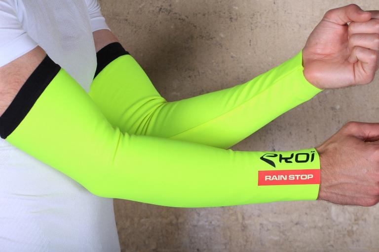 Ekoi Arm Warmers Rainstop 2016 Neon Yellow.jpg