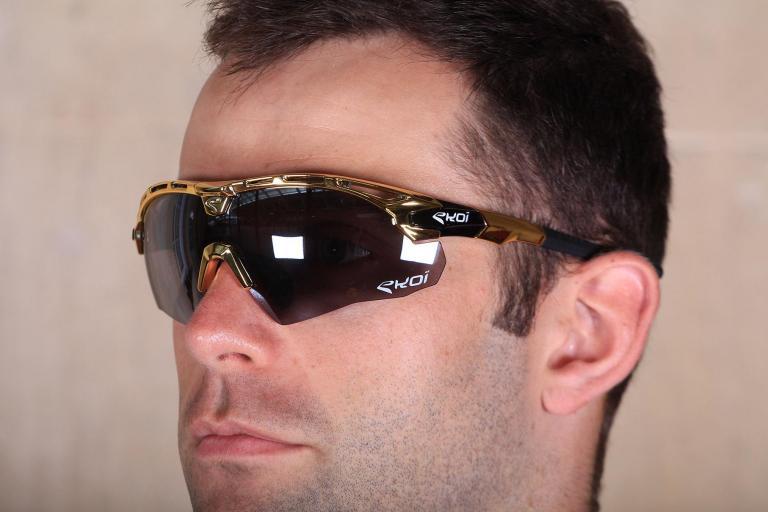 Ekoi Guerra Gold Ltd Mirror sunglasses.jpg