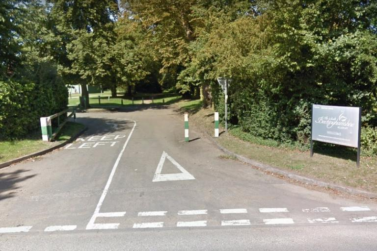 Entrance to South Bucks Academy (via StreetView)