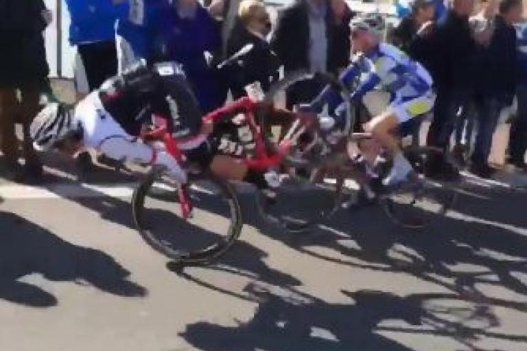Fabio Felline Amstel Gold Race crash video still.JPG