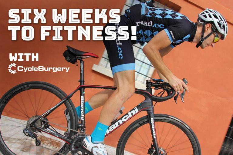 Six weeks to fitness - week 4