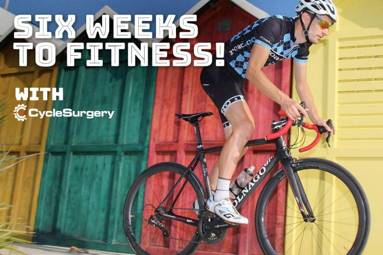 Six weeks to fitness with Cyclesurgery - week 5