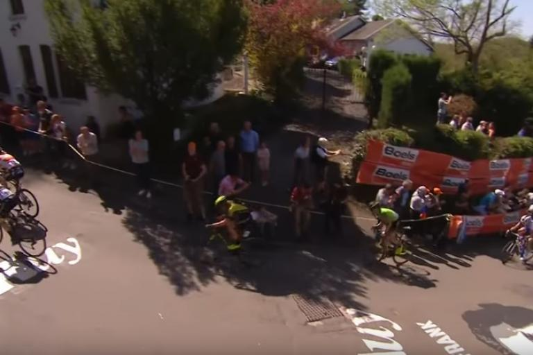 Fleche Wallonne Femmes 2019 (via YouTube)