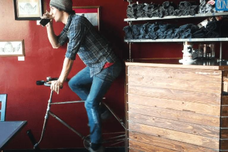 Flying Lion Brewing beer bike (via Eater on Faccebook).PNG