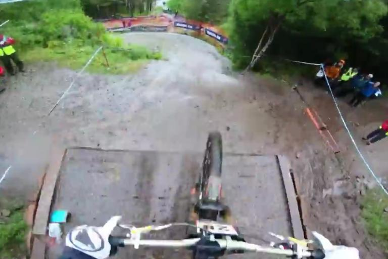 Fort William downhill (via Facebook video)