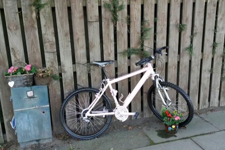 Gavin Moore ghost bike (picture credit Neale Moore via Facebook).jpg