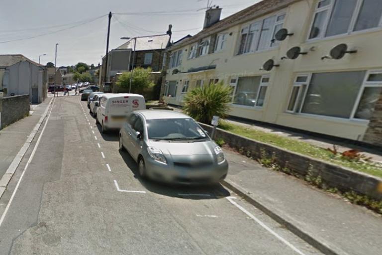 george street Truro google maps