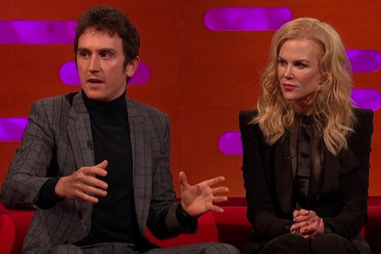 Geraint Thomas alongside Nicole Kidman on The Graham Norton Show (iPlayer)