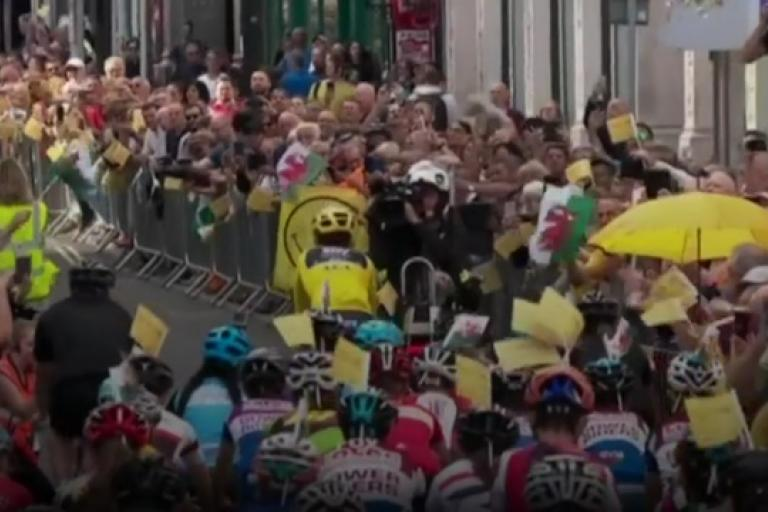 Geraint Thomas returns to Cardiff (via BBC)