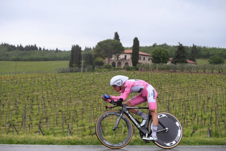 Gianluca Brambilla during 2016 Giro d'Italia Stage 9 (PHOTO CREDIT ANSA - PERI - DI MEO - ZENNARO).jpg