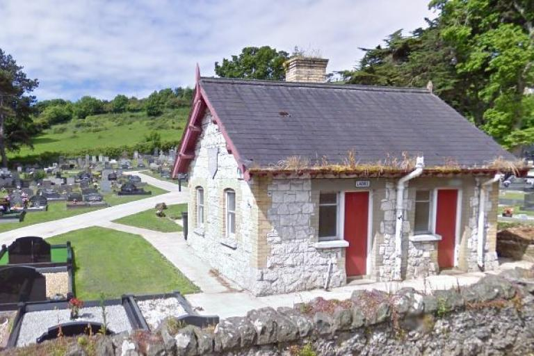 Glenarm cemetery WCs.JPG