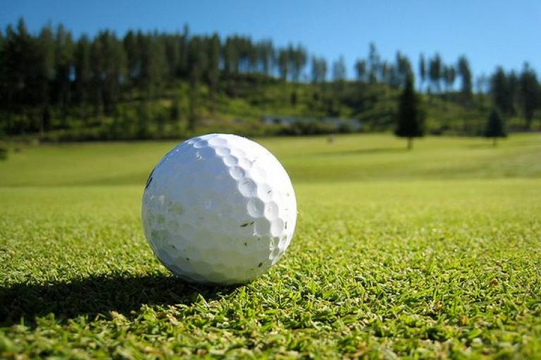 Golf ball (licensed CC BY SA 2.0 by Silas Grok on  Twitter).JPG