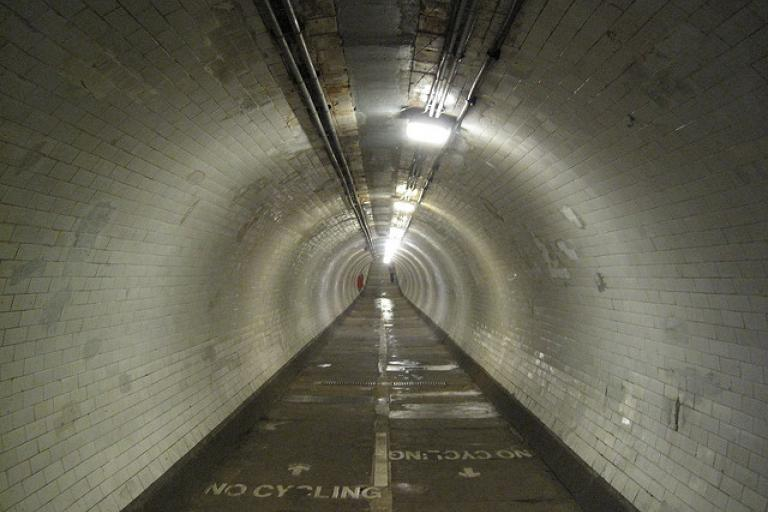Greenwich Foot Tunnel (licensed CC BY-ND 2.0 on Flickr by Jamie Moore).jpg