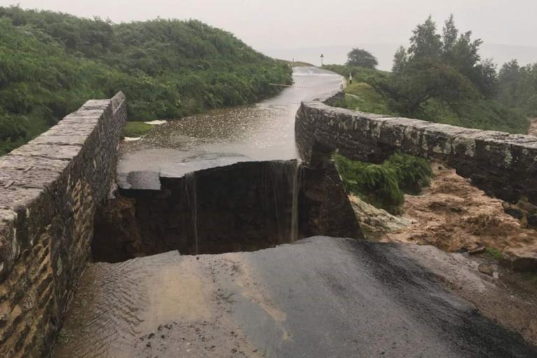 Grinton Moor Bridge (via Swaledale Mountain Rescue)