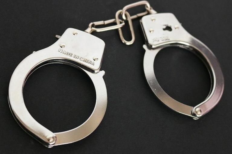 Handcuffs (picture credit www.JobsForFelonsHub.com via Flickr).jpg