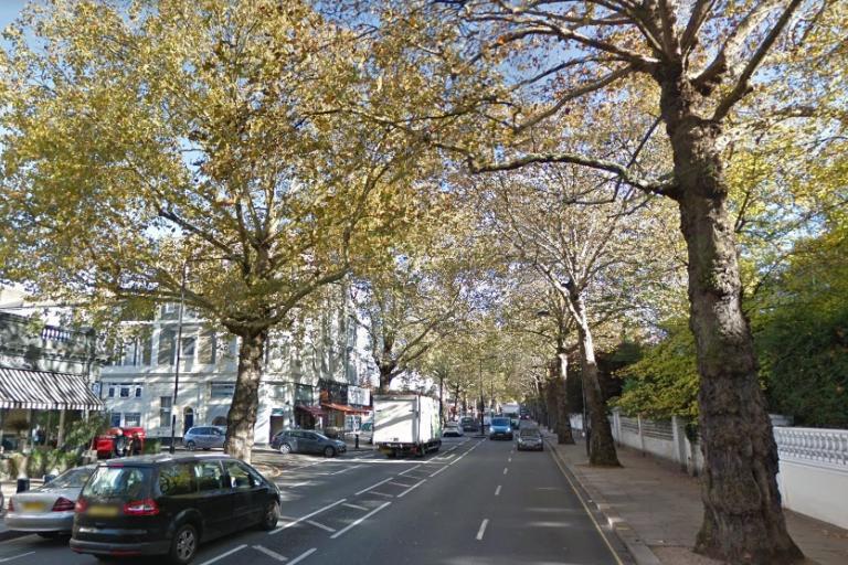 Holland Park Avenue (via StreetView)