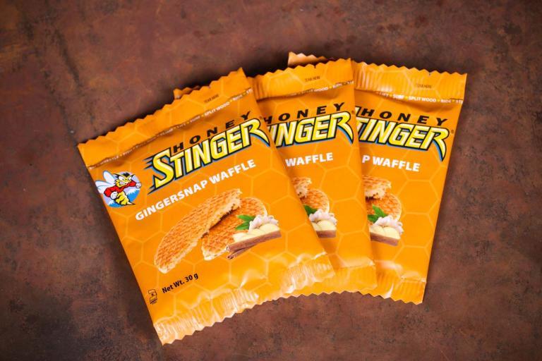 Honey Stinger Gingersnap waffle
