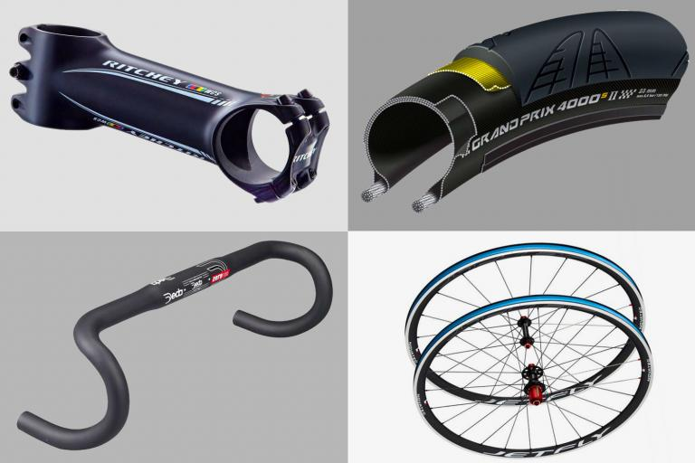 How to trim bike weight on the cheap August 2018