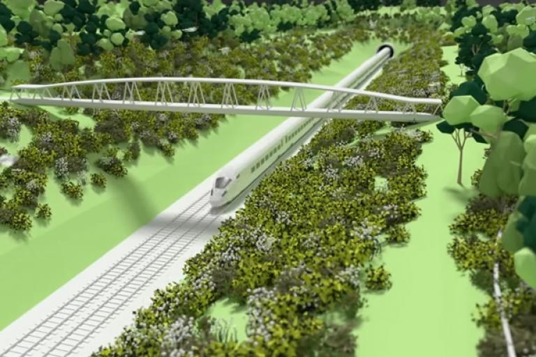 HS2 animation (via YouTube)