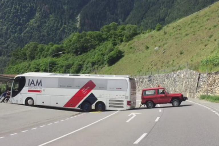 IAM team bus at Tour de Suisse (source IAM Cycling Twitter video still).PNG