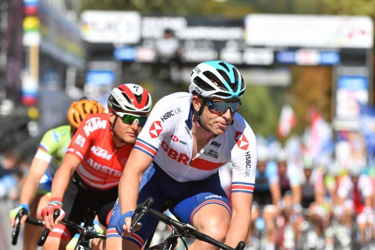 Ian Stannard at 2019 UCI Road World Championships (picture credit Simon Wilkinson, SWPix.com).JPG