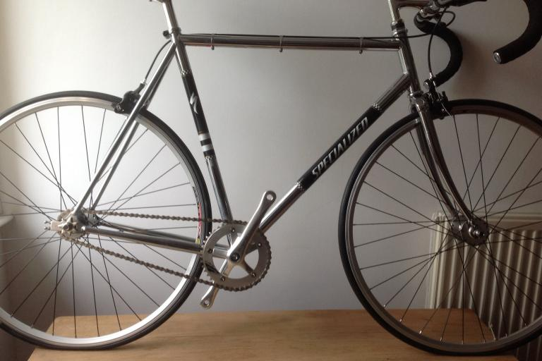 Specialized Langster chrome, new/never used.