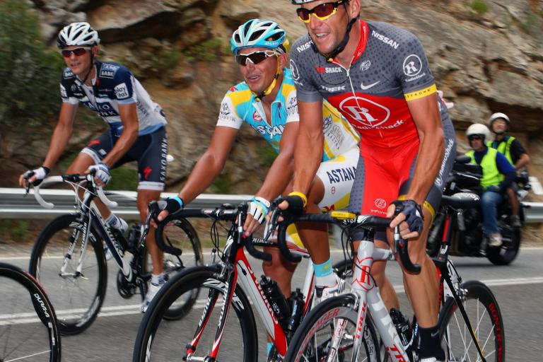 Lance Armstrong @ Santos TDU 2010 (Photosport International)