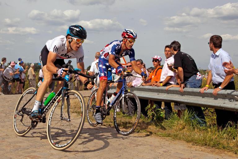 Geraint Thomas, 2010 Tour de France (Photosport Intl)